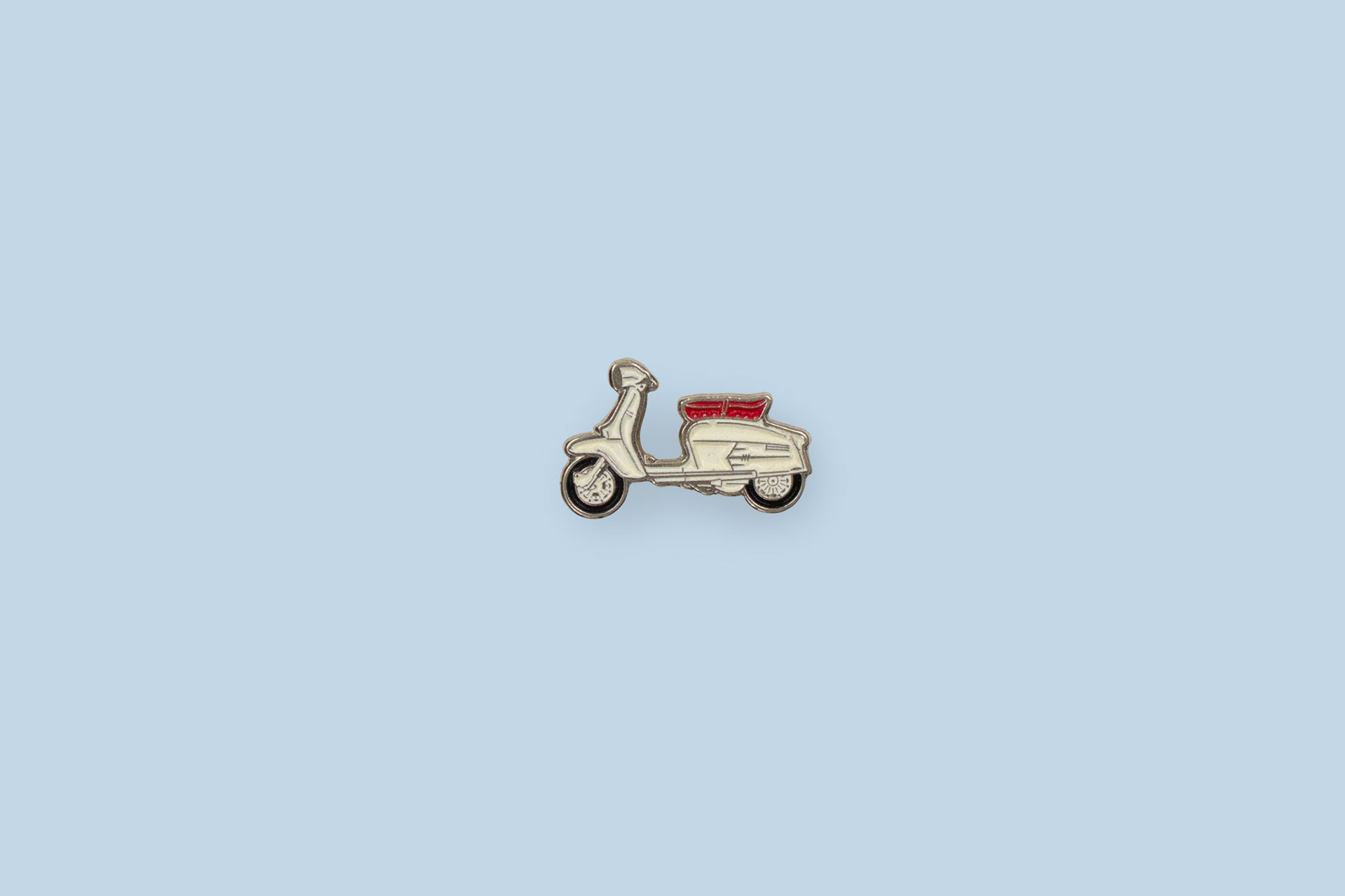 Nickel plated enamel Pin Badge